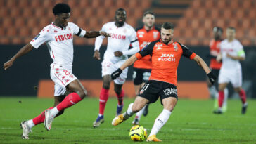 Lorient affrontera Monaco ce vendredi soir (iconsport)