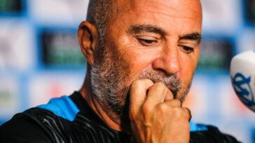 Jorge Sampaoli a apprécié la prestation de ses joueurs (iconsport)