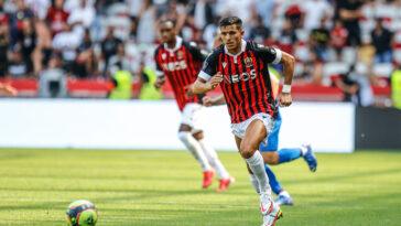 Youcel Atal lors de la première journée de Ligue 1 face à Reims (Iconsport)