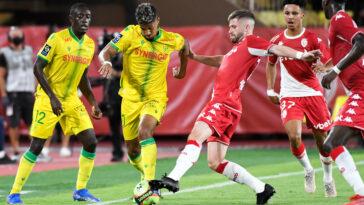 Match nul entre Monaco et Nantes (iconsport)