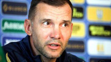 Andreï Chevtchenko a annoncé ce dimanche 1er août son départ de la sélection ukrainienne. L'ancien grand buteur de l'AC Milan était à sa tête depuis 2016 (iconsport)