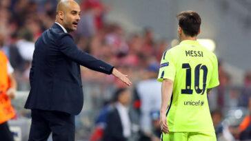 Pep Guardiola détruit directement la rumeur Messi à Manchester City (iconsport)
