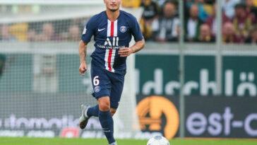 Marco Verrati jouant avec les Parisiens (Icon Sport)