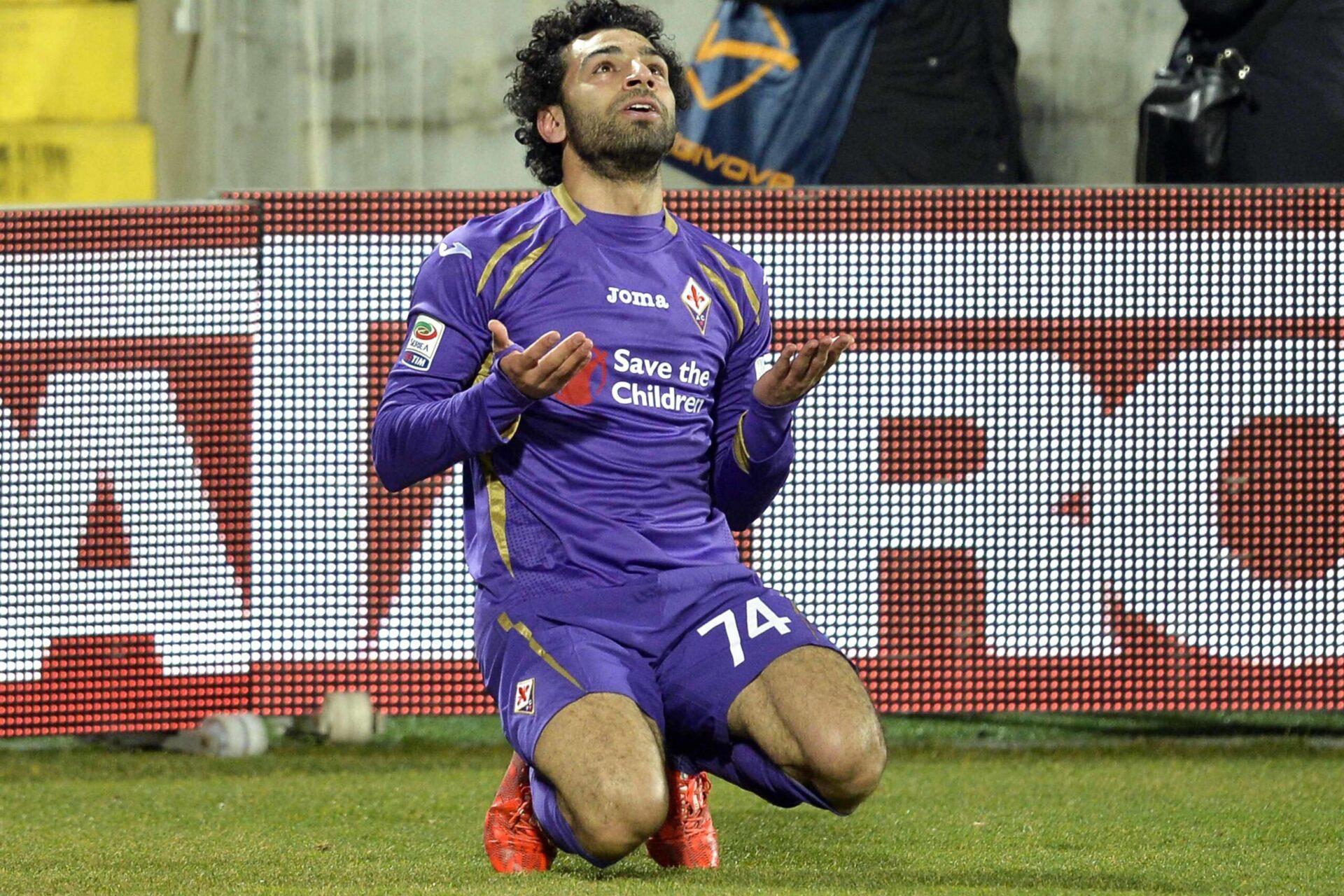 Mohamed Salah sous les couleurs de Fiorentina (Icon Sport)