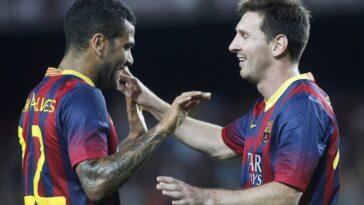 Dani Alves s'est exprimé sur le départ de Lionel Messi (iconsport)