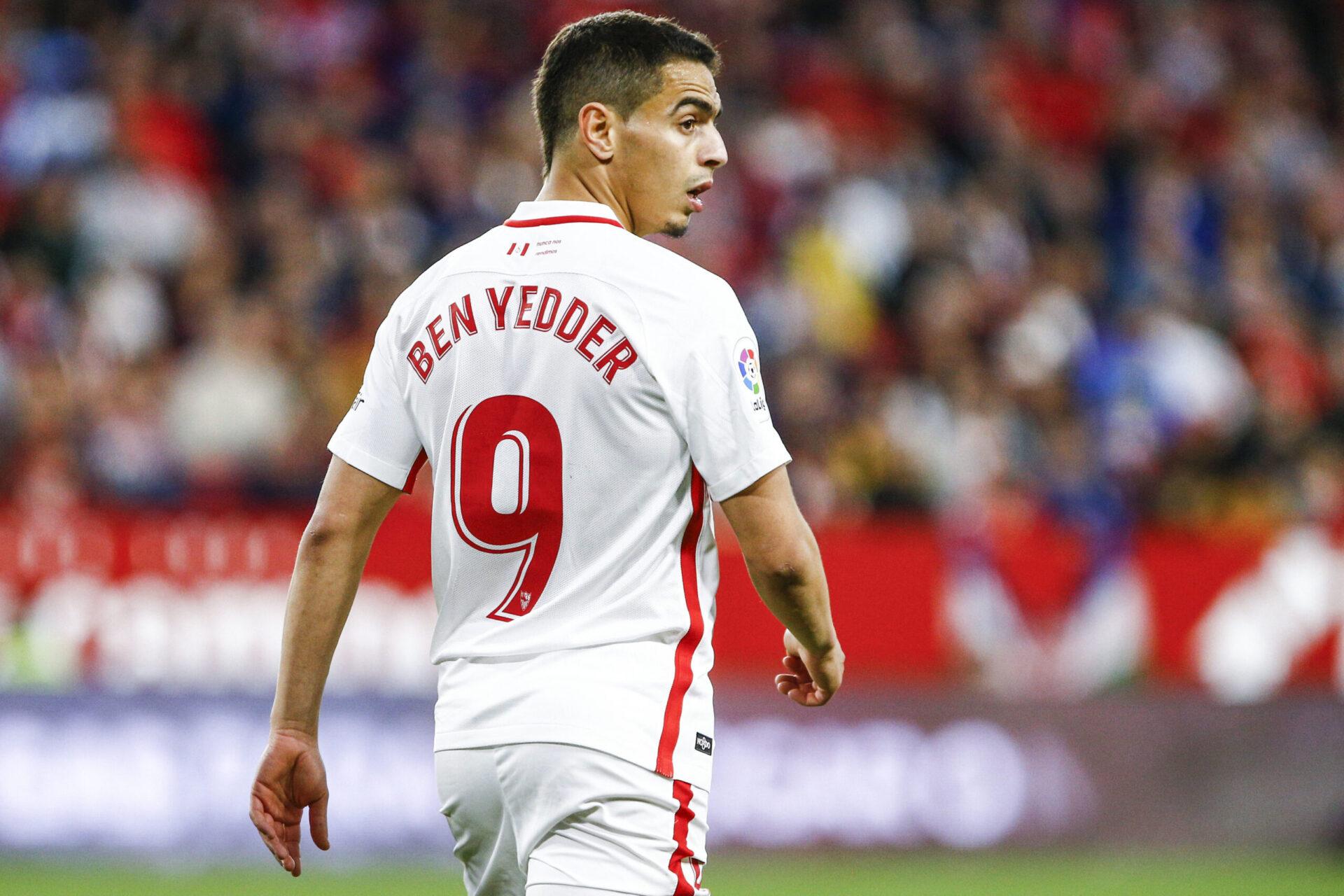 Wissam Ben Yedder portant le maillot de Séville FC (Icon Sport)