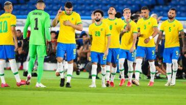 Le Brésil a remporté l'Or aux JO (iconsport)