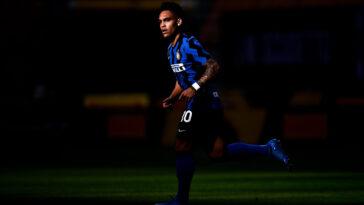 Lautaro Martinez sous les couleurs de l'Inter Milan (Icon Sport)