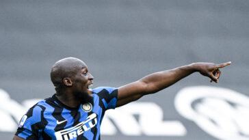 Romelu Lukaku sous les couleurs de l'Inter Milan (Icon Sport)
