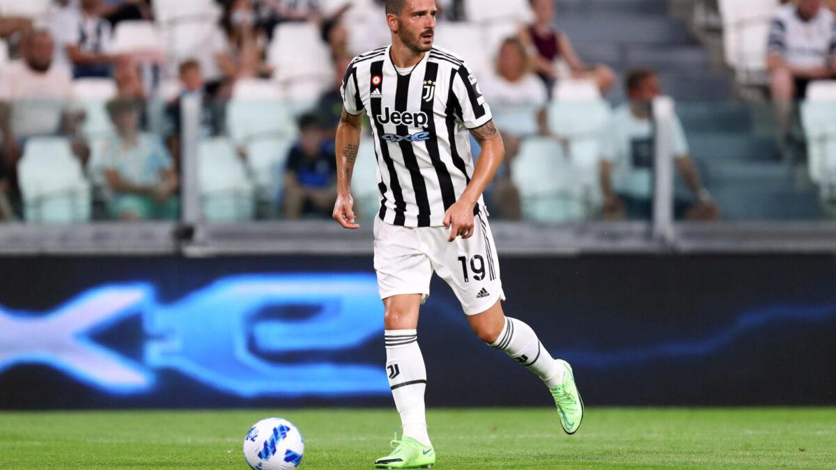 Leonardo Bonucci portant le maillon de la Vielle Dame (Icon Sport)
