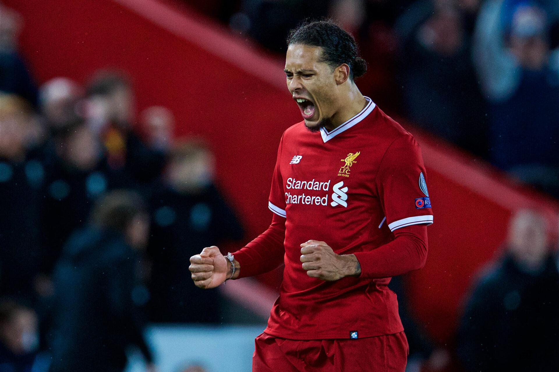 Virgil Van Dijk portant le maillot de Liverpool (Icon Sport)