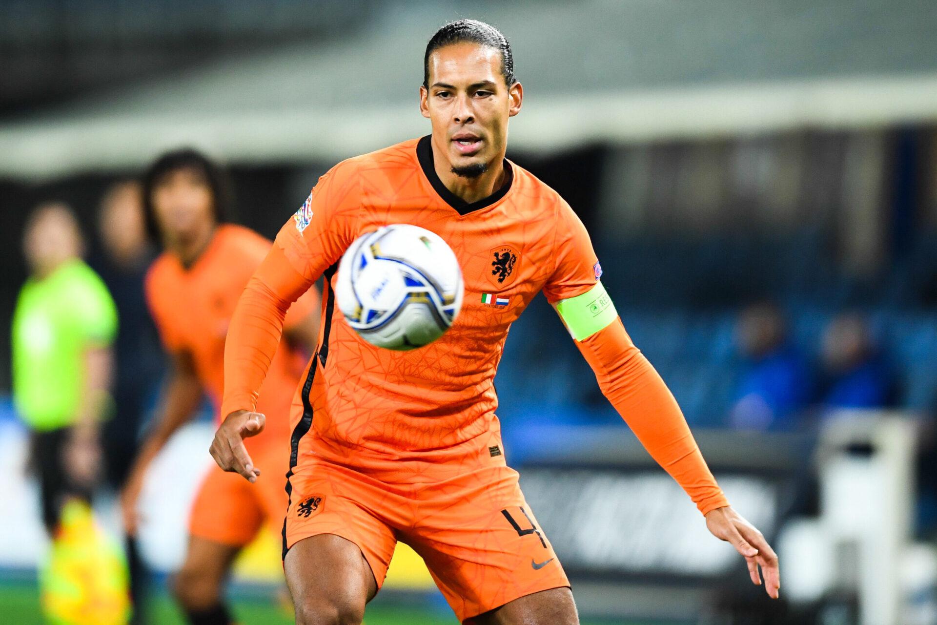 Virgil Van Dijk jouant pour son pays (Icon Sport)