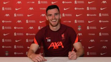 Robertson a officiellement signé son nouveau contrat (liverpoolfc.com)