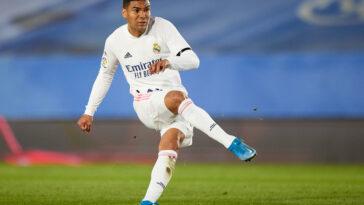 Casemiro sous les couleurs du Real Madrid (Icon Sport)