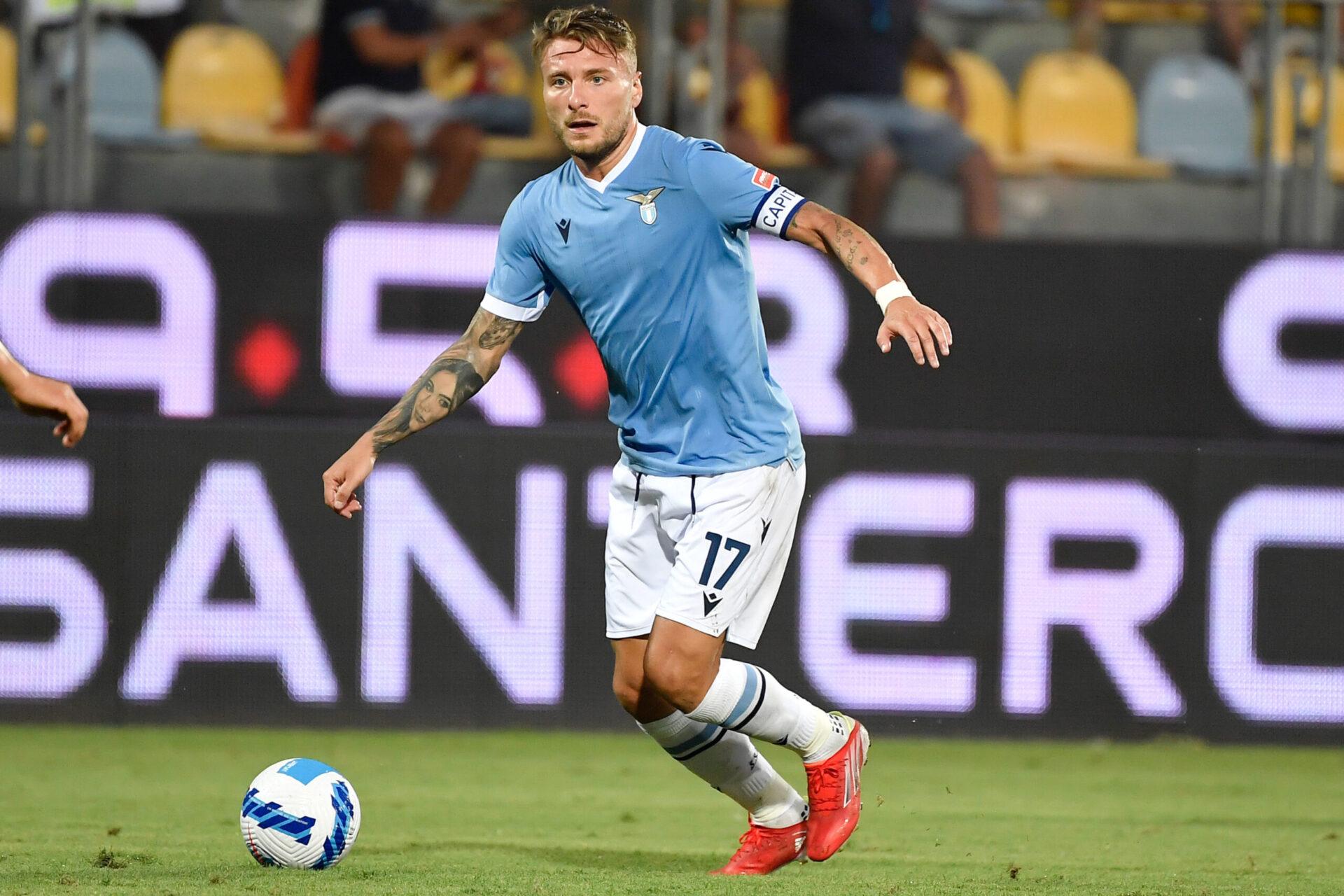 Ciro Immobile jouant avec le club du SS Lazio (Icon Sport)