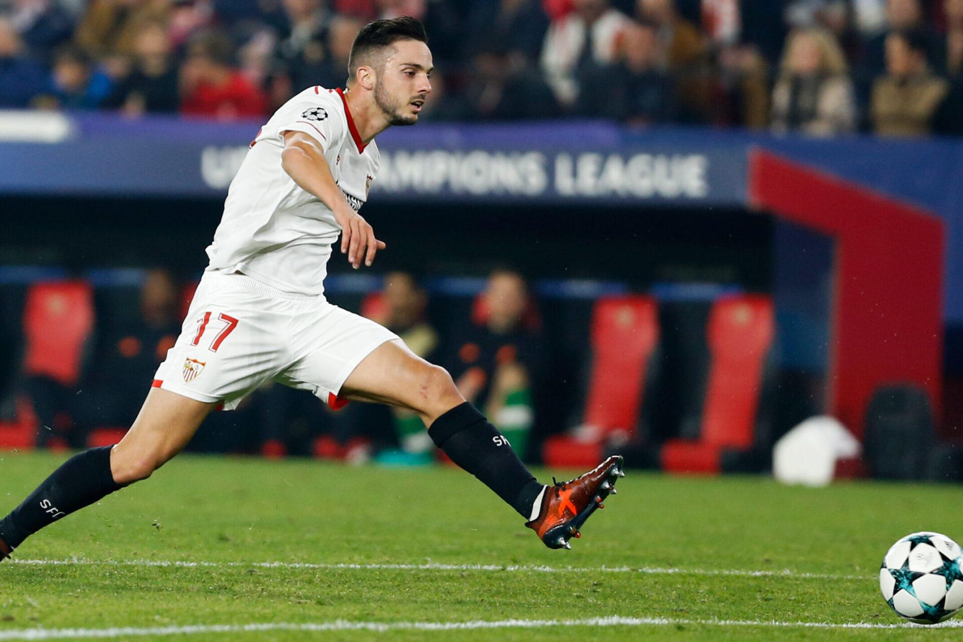 Pablo Sarabia sous le maillot de Séville (Icon Sport)