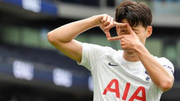 Son Heung-Min portant le maillot de Tottenham Hotspur (Icon Sport)