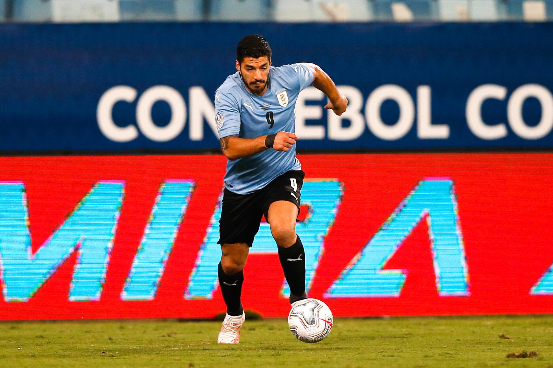 Luis Suárez honorant son pays en tant que footballeur (Icon Sport)