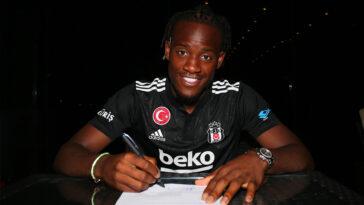 Nouveau prêt pour Michy Batshuayi. L'attaquant belge rejoint Beşiktaş pour une saison. (iconsport)