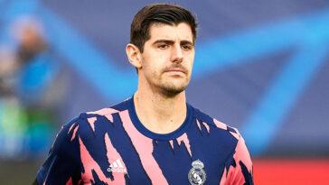 Thibaut Courtois est désormais lié avec le Real Madrid jusqu'en juin 2026 (iconsport)