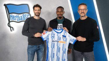 Myziane Maolida quitte l'OGC Nice et rejoint le Hertha Berlin. Icon Sport