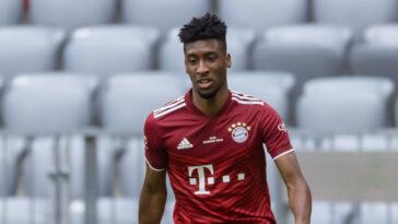 Annoncé vers la sortie, Kingsley Coman semble finalement se projeter au Bayern Munich pour une septième saison (iconsport)
