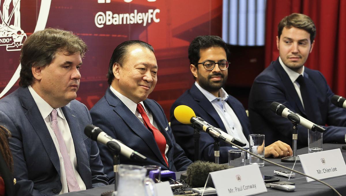 Également propriétaire de Barnsley, le consortium international composé de Paul Conway, Chien Lee et Gauthier Ganaye possède le club belge d'Ostende et l'AS Nancy Lorraine. Un rapprochement qui soulève des questions (iconsport)