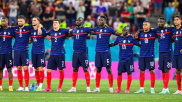 Deuxième au classement FIFA depuis la Coupe du monde 2018, la France perd une place et passe derrière le Brésil (iconsport)