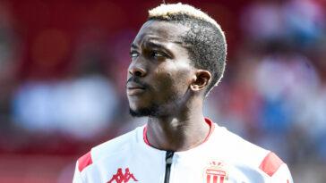 Arrivé à Monaco en 2019, Henry Onyekuru quitte l'ASM. L'ailier nigérian rejoint l'Olympiakos (iconsport)