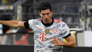 """Alors qu'il aura 33 ans ce samedi, Roberto Lewandowski serait tenté par un """"nouveau challenge"""" en Europe alors que son contrat expire dans deux ans au Bayern (iconsport)"""