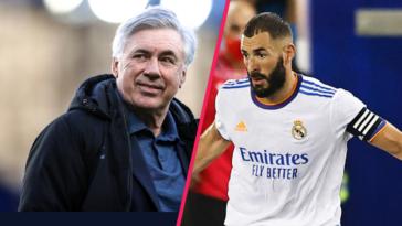 Carlo Ancelotti est déjà sous le charme de Karim Benzema au Real Madrid. Icon Sport