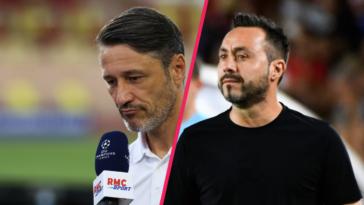 Niko Kovac (Monaco) et Roberto De Zerbi (Shakhtar) se sont exprimés en conférence de presse après la rencontre. Icon Sport