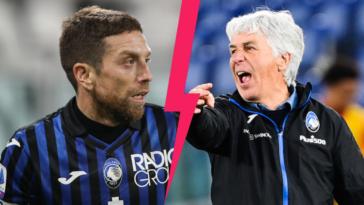Papu Gomez et son ancien entraîneur Gian Piero Gasperini auraient tenté de se frapper lorsque le milieu offensif de Séville évoluait encore à l'Atalanta. Icon Sport