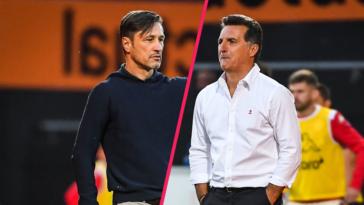 Niko Kovac et Christophe Pelissier ont réagi après la victoire du FC Lorient face à l'AS Monaco. Icon Sport