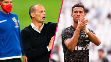 Massimiliano Allegri a assuré que Cristiano Ronaldo allait rester à la Juventus cette saison. Icon Sport