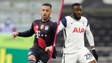 Corentin Tolisso et Tanguy Ndombélé au coeur d'un échange entre le Bayern et Tottenham ? Icon Sport