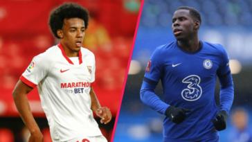 L'arrivée de Jules Koundé à Chelsea pourrait être conditionnée à un départ de Zouma (iconsport)