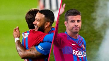 Memphis Depay, inscrit en Liga, pourra jouer le premier match contre la Real Sociedad... grâce à Gerard Piqué. Icon Sport