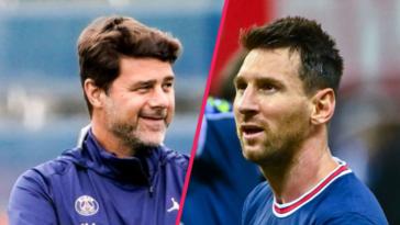 Mauricio Pochettino s'est exprimé en conférence de presse après la rencontre face à Reims, et notamment sur les premiers pas de Lionel Messi avec le PSG. @iconsport