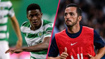 Alors que Nuno Mendes pourrait rejoindre le PSG, Pablo Sarabia est en passe de s'engager en prêt avec le Sporting Portugal (iconsport)