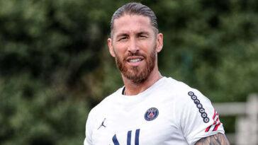 Blessé au mollet, Sergio Ramos ne sera pas disponible en match avant la cinquième journée de Ligue 1 programmée mi-septembre (PSG)