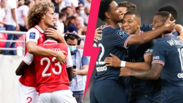 Reims affrontera le PSG pour clôturer la 4ᵉ journée de Ligue 1 (iconsport)