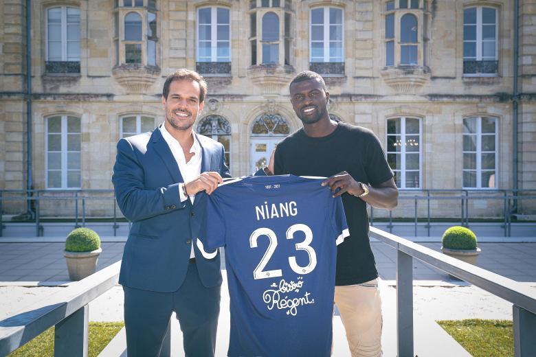 Pas qualifié pour le match contre Rennes, Niang pourrait faire ses débuts avec les Girondins contre l'AS Monaco. FCGB
