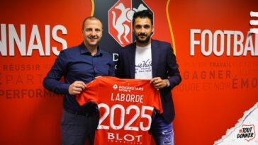 Gaëtan Laborde a rejoint le Stade Rennais. @Stade Rennais
