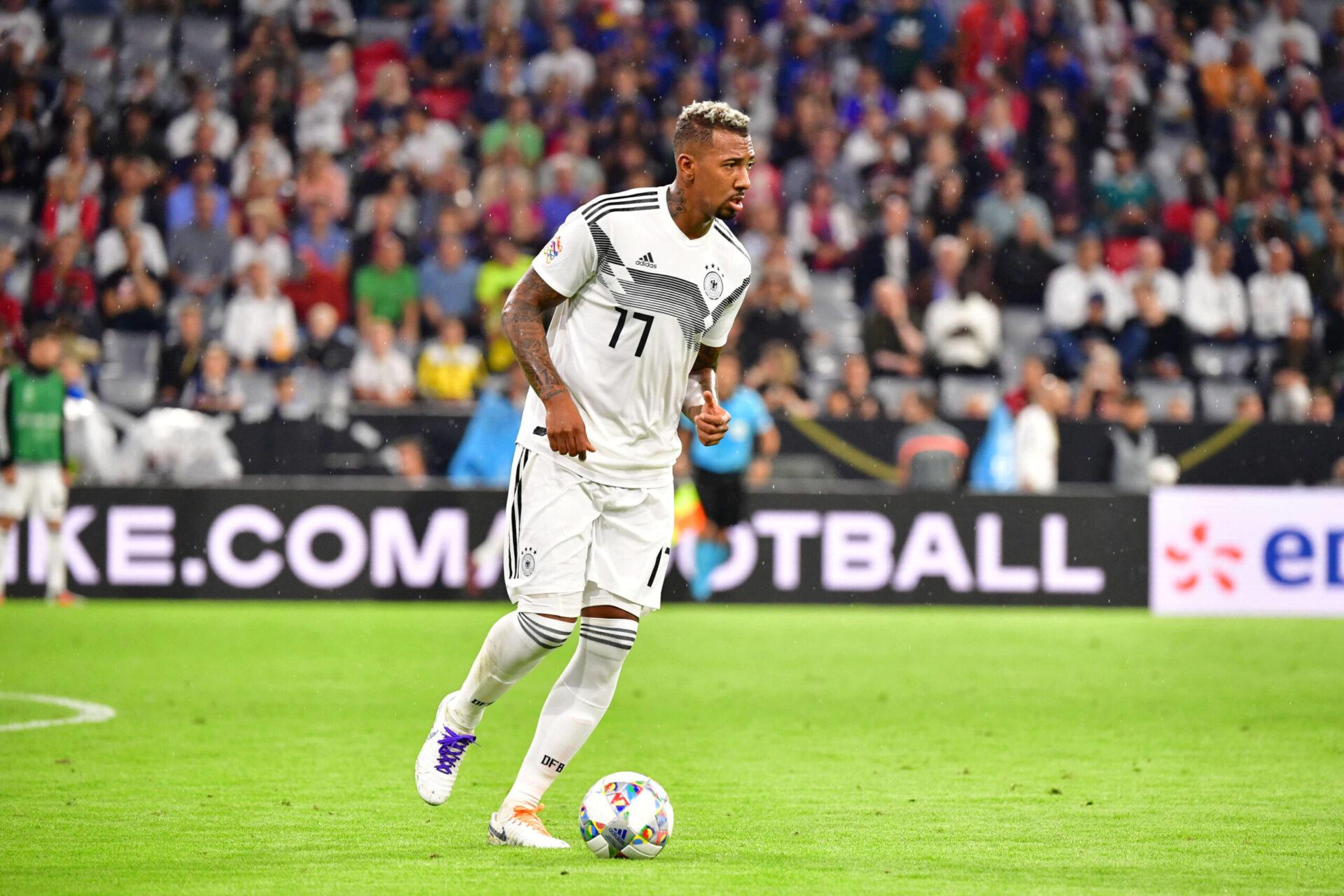 Jérôme Boateng représentant son pays, l'Allemagne (Icon Sport)