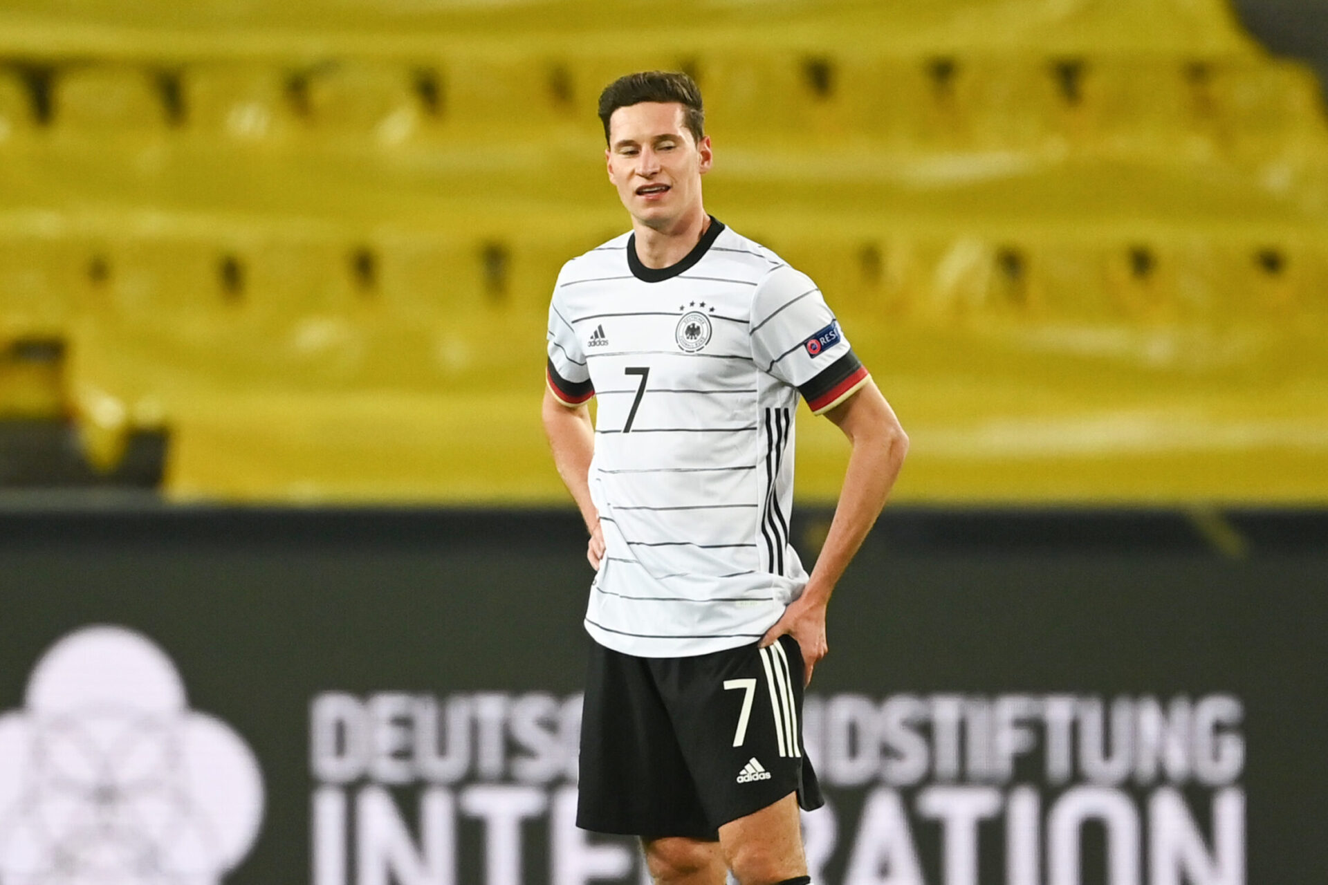 Julian Draxler honorant son pays, l'Allemagne (Icon Sport)