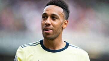Pierre-Emerick Aubameyang sous les couleurs d'Arsenal (Icon Sport)