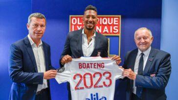 Lyon est parvenu à convaincre Jérôme Boateng de signer (Damien LG - OL)