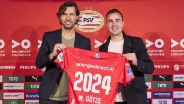 Götze prolonge de deux ans au PSV (Twitter PSV)