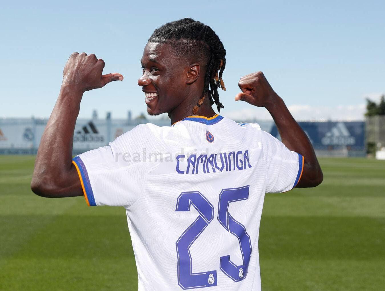 Eduardo Camavinga a été officiellement présenté par le Real Madrid. @Real Madrid
